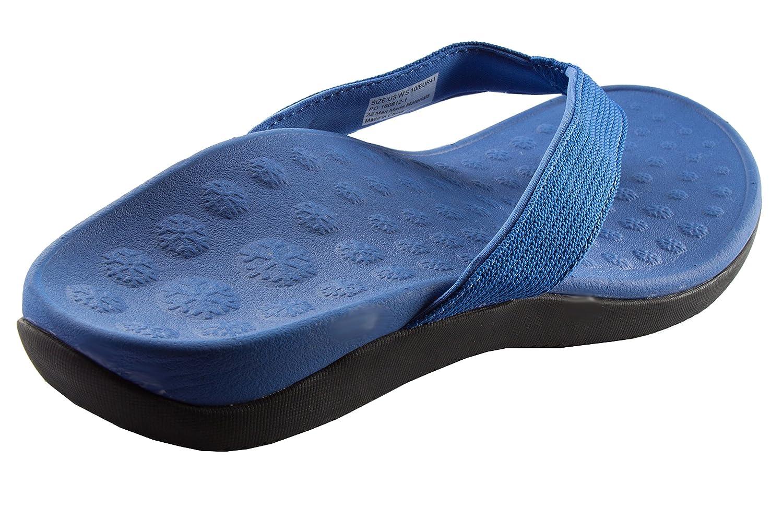 Bodytec Wellbeing Sandalias Mujer Hombre Adultos Unisex, Color Azul, Talla 40 EU