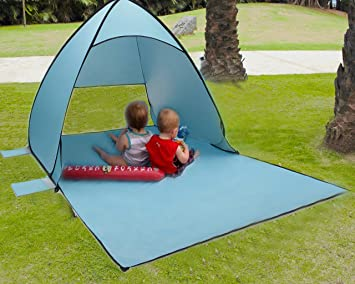 Tecare Pop Up Tent for Beach Kids Play Lightweight Portable Easy Setup Outdoors Anti-UV & Amazon.com: Tecare Pop Up Tent for Beach Kids Play Lightweight ...