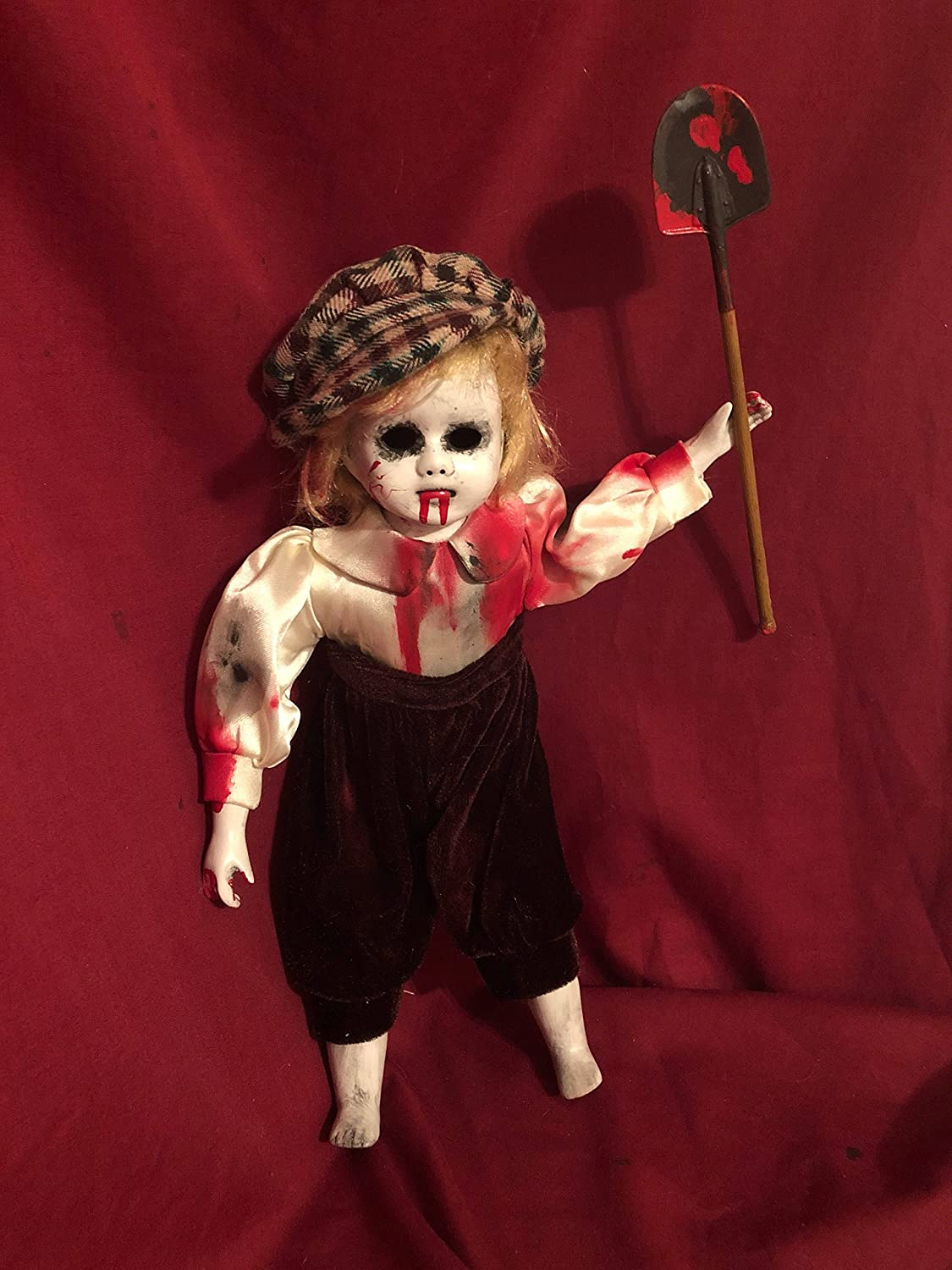OOAK Small Gravedigger Creepyホラー人形アートby Christie creepydolls   B07BH85PHF