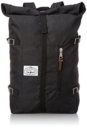 Amazon.com: Poler Men's Retro Rolltop Backpack, Black, One Size ...