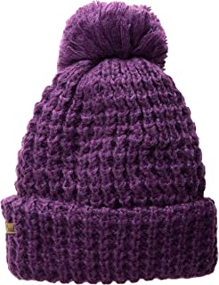 c2e1f7226e8 Amazon.com  Coal Women s The Rosa Chunky Cable Pattern Pom Beanie ...
