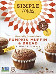 Simple Mills Almond Flour Mix, Pumpkin Muffin & Bread, 9 oz