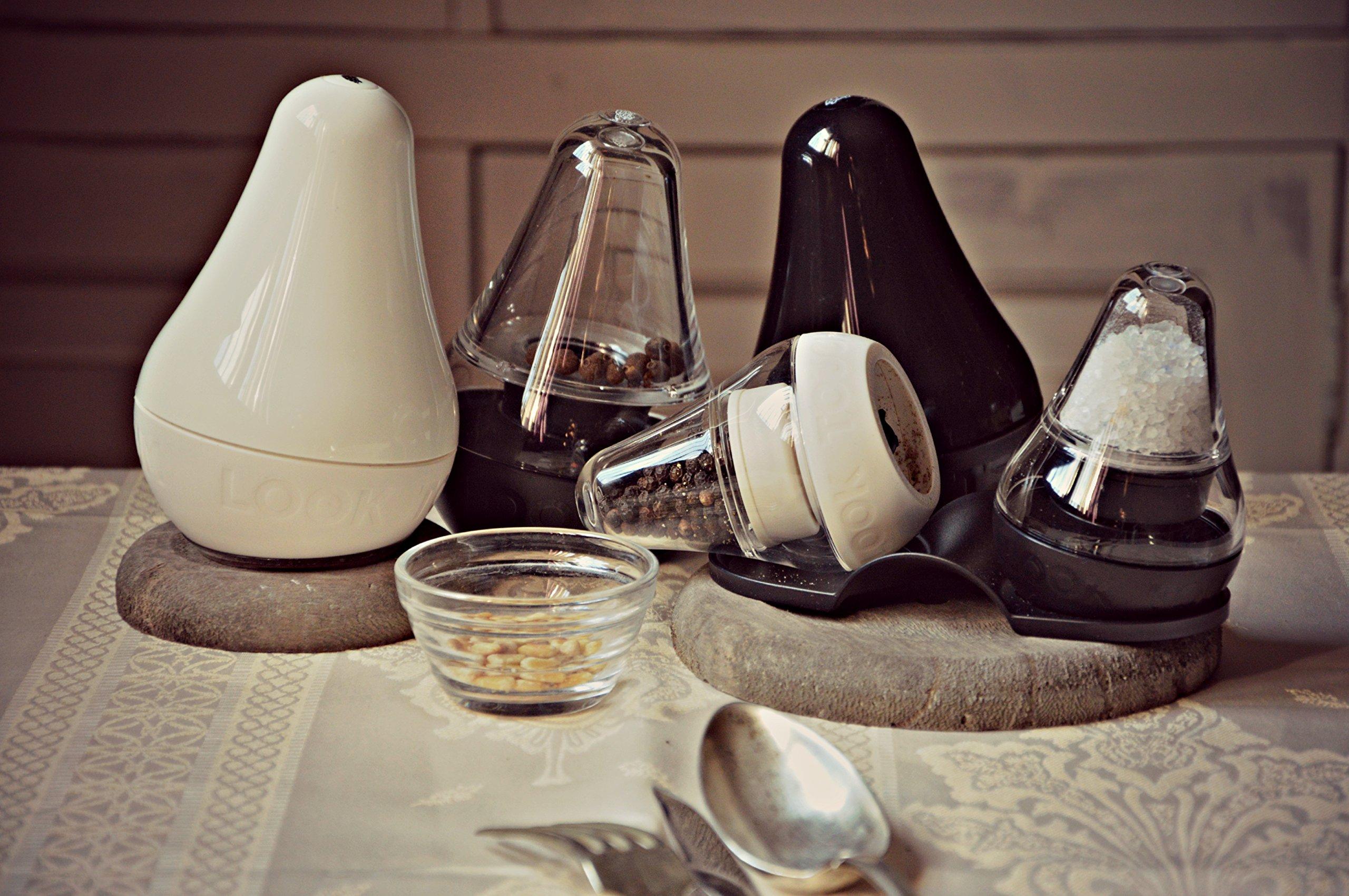 mini Look Touch Taste, Salt & Pepper Grinders (6 retail sets per case) by Finum (Image #4)