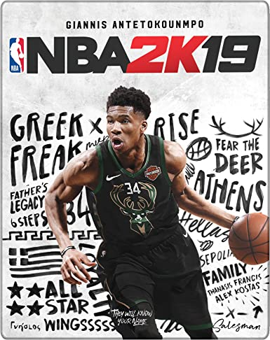 NBA 2K19 Steelbook Edition - Day-one Limited - PlayStation 4 ...