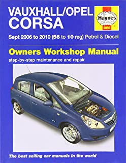 Haynes Manual 4886 Vauxhall Corsa 1.3 CDTi Active Design Life