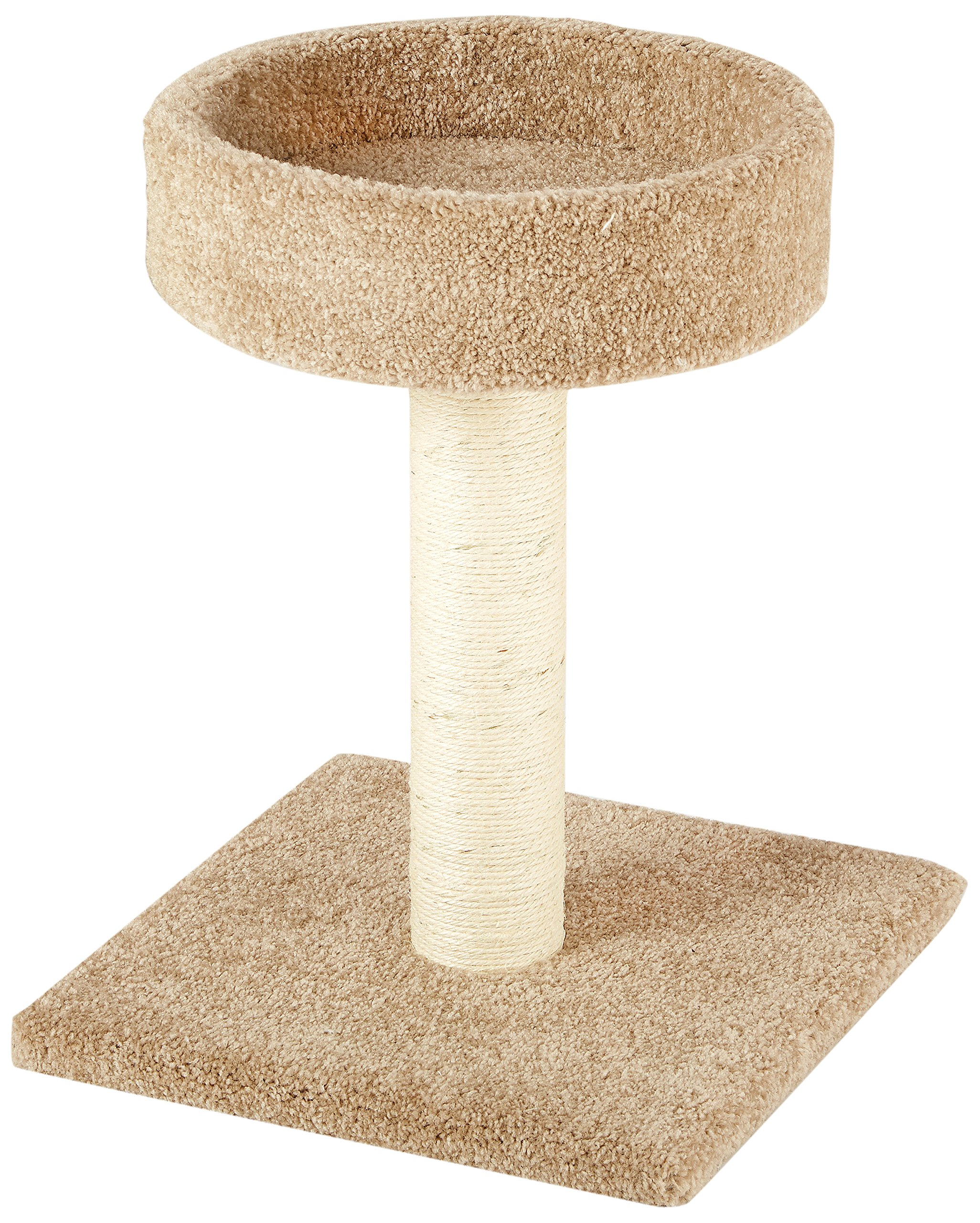 AmazonBasics Cat Tree with Scratching Posts Small