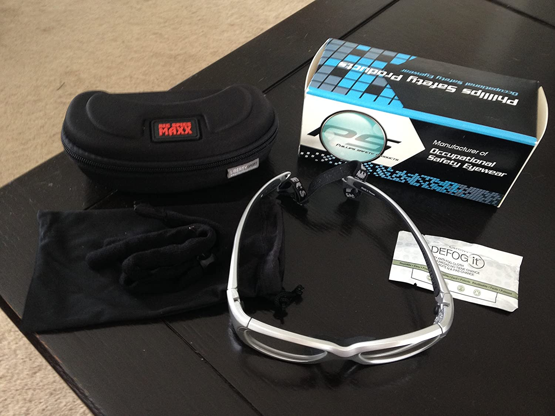 26262b5767 Amazon.com  MX30 Radiation Glasses - Silver  Health   Personal Care