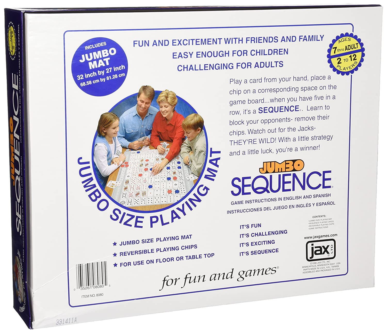 Amazon Jumbo Sequence Box Edition Toys Games