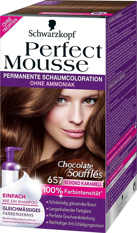 Perfect Mousse de Schwarzkopf, coloración permanente ...