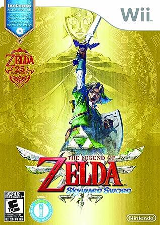 6eebf6282aa The Legend of Zelda: Skyward Sword (Wii) [Importación inglesa]. Pasa el  ratón por ...