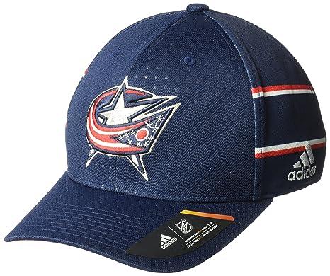 Amazon.com   adidas NHL Columbus Blue Jackets Men s Pro Collection ... 47f3682175c