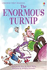 The Enormous Turnip: For tablet devices (Usborne First Reading: Level Three) Kindle Edition