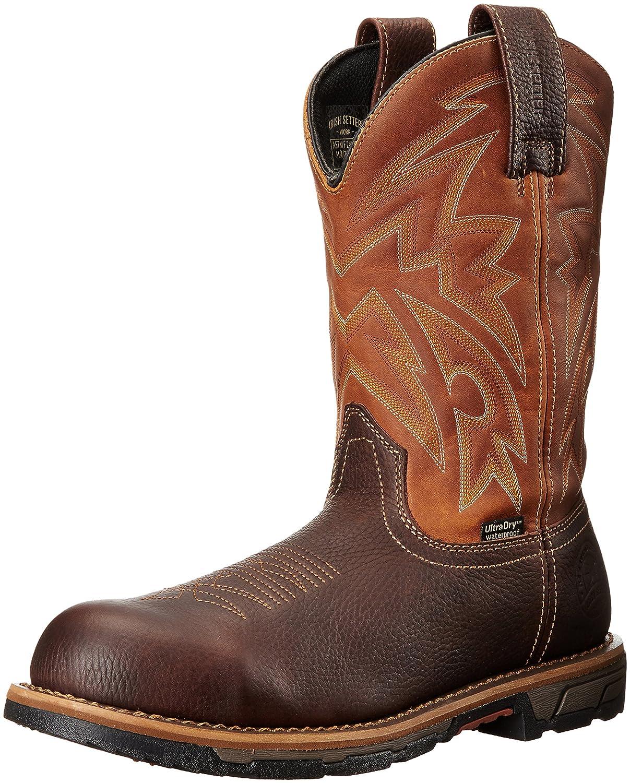 Irish Setter Workメンズマーシャル83934プルオンSteel Toe Work Boot Brown/Harvest Gold 11.5 D(M) US 11.5 D(M) USBrown/Harvest Gold B01BOTJYWA