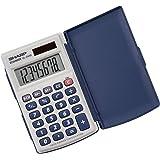 Sharp Electronics EL243SB 8-Digit Twin Powered Calculator
