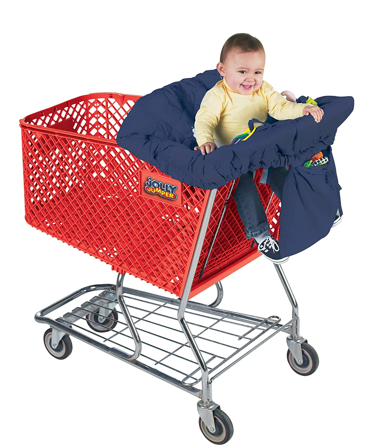 Jolly Jumper - Sani-Shopper Shopping Cart Cover With Safety Belt 716-77