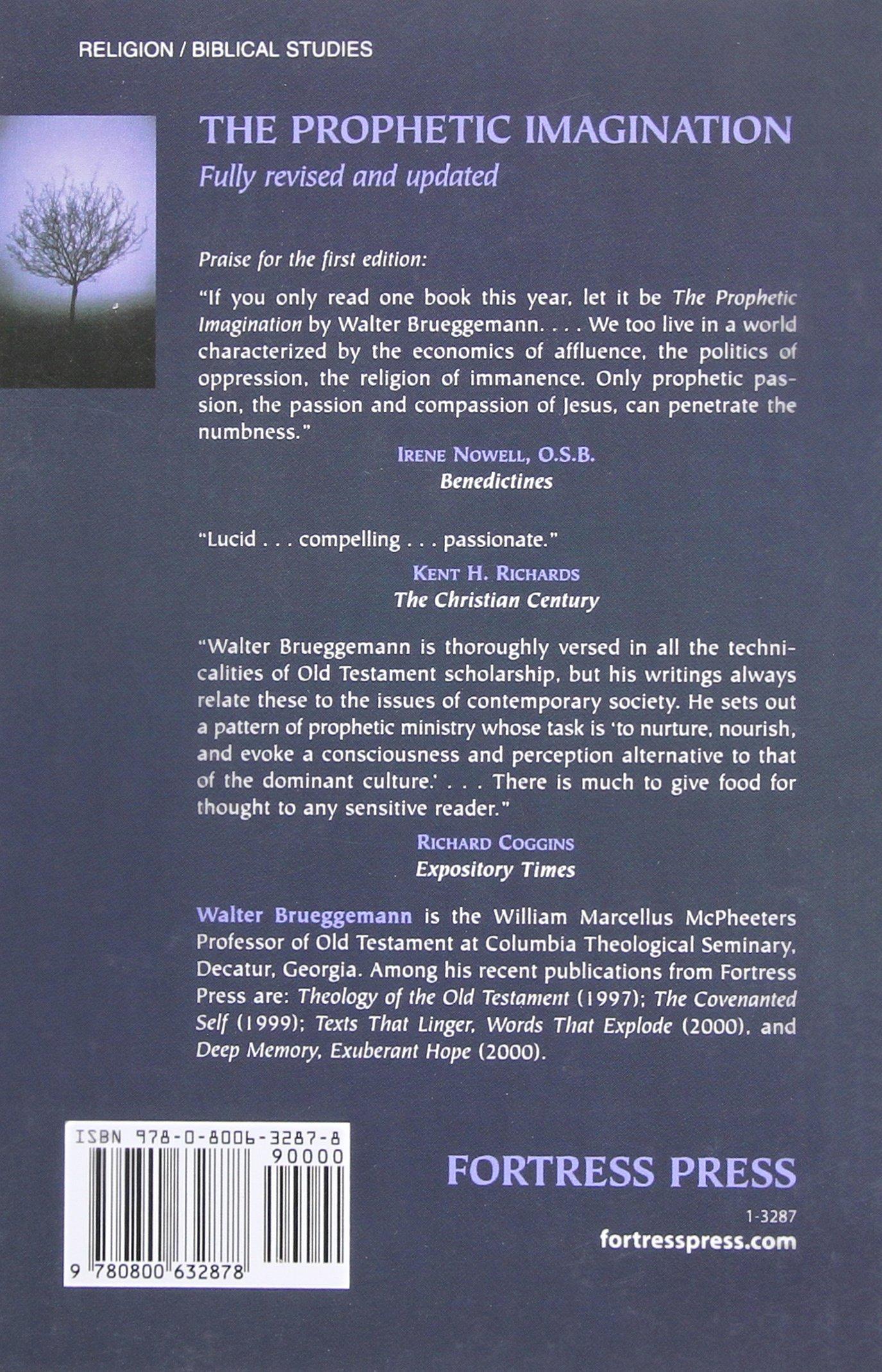 The Prophetic Imagination, 2nd Edition: Walter Brueggemann: 9780800632878:  Amazon.com: Books