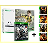 XBOX ONE S 500gb + FIFA 17 EA ACCESS 1 mois + GEARS OF WAR 4 + GOW 1,2,3 & GOW Judgment - MEGAPACK 6 Jeux