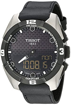 7a931b9031a8 Image Unavailable. Image not available for. Color  Tissot Men s  T091.420.46.051.00  T Touch Expert  Black ...