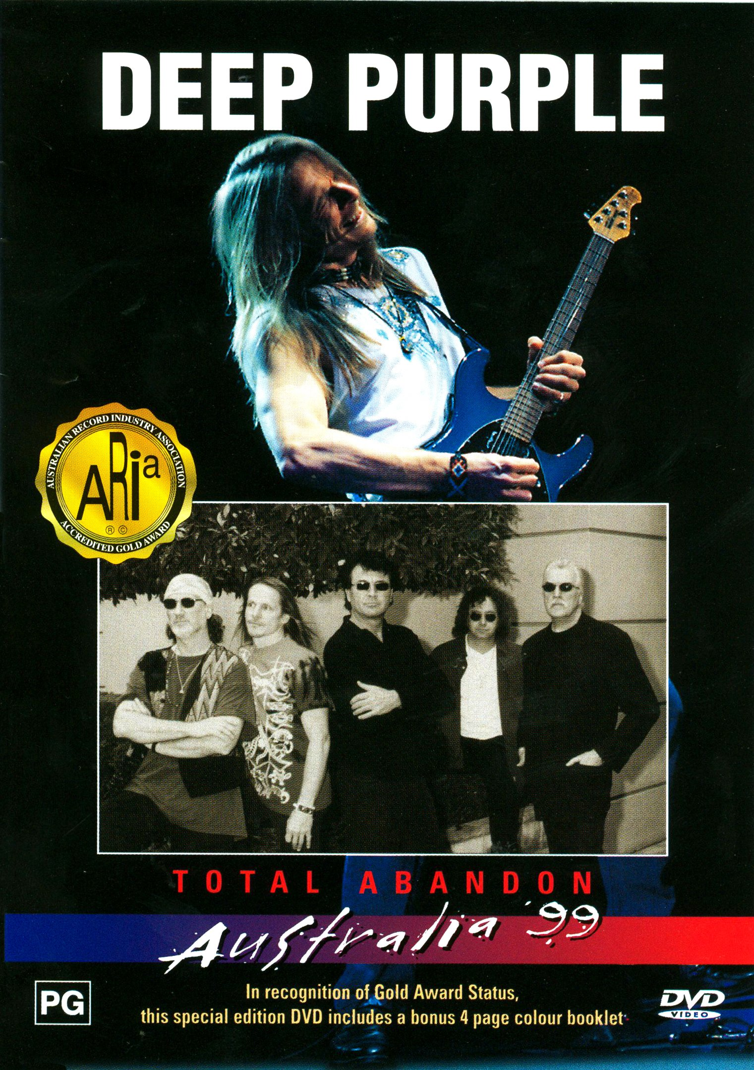 Deep Purple Live in Australia 1999 - Total Abandon by THOMPSON MUSIC
