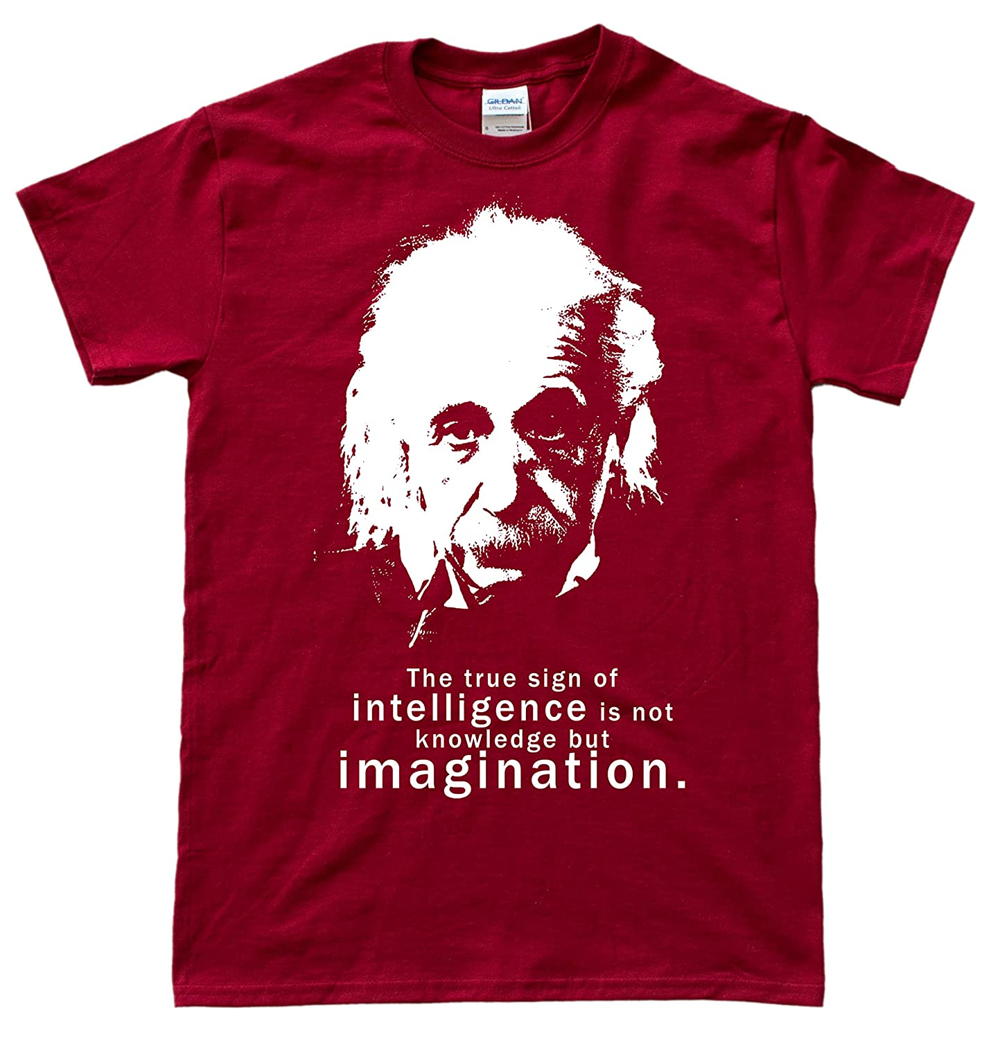 Albert Einstein Quote T-Shirt: Amazon.de: Bekleidung