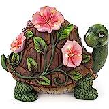VP Home Luminous Floral Turtle Solar Powered LED Outdoor Decor Garden Light