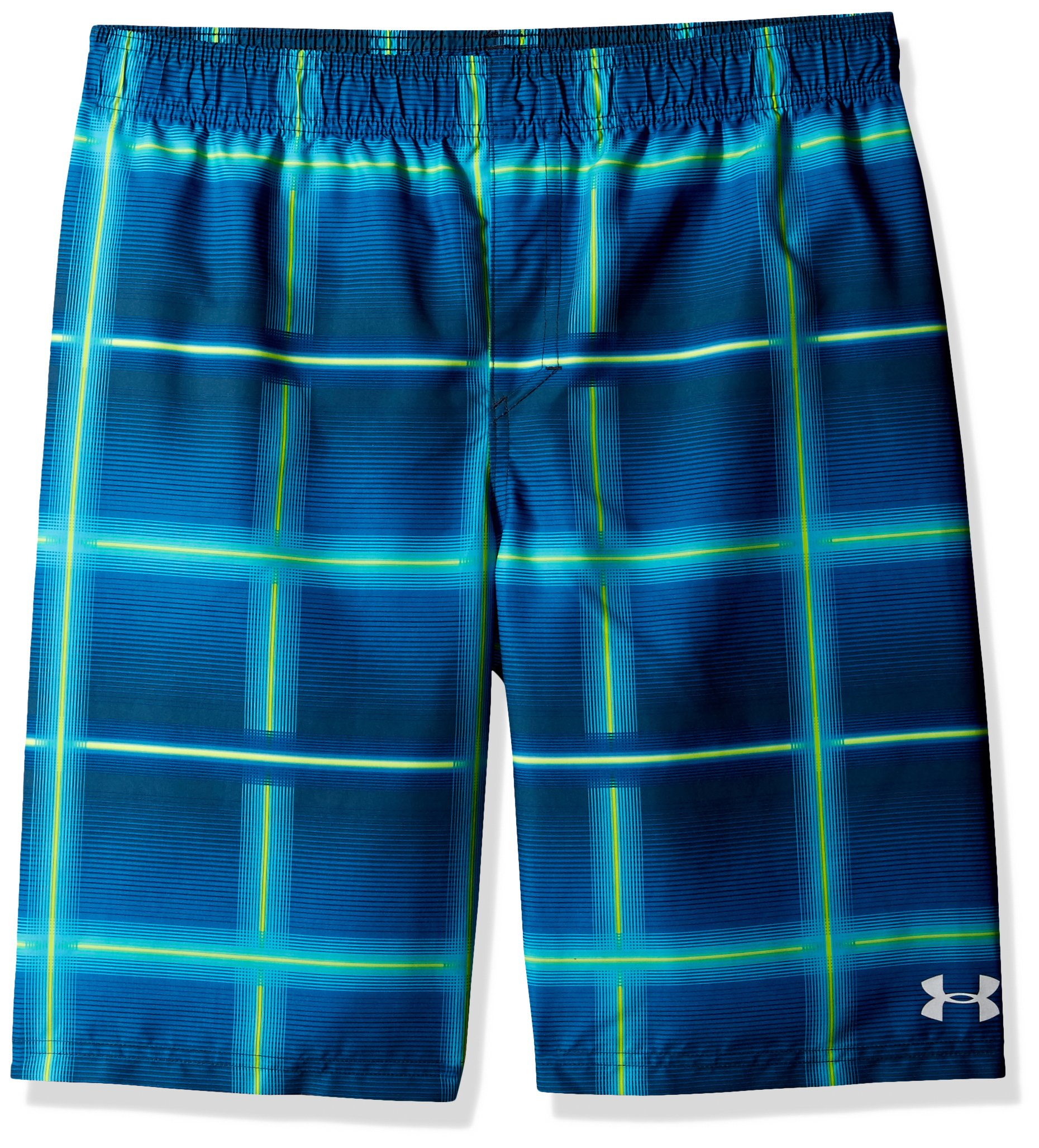 Under Armour Boys' Big Volley Fashion Swim Trunk, True Ink, Small