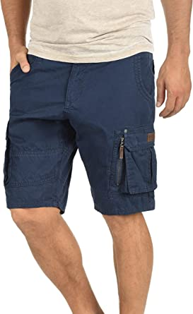 Blend Gaara Pantalón Cargo Bermudas Pantalones Cortos para Hombres De 100% algodón Regular-Fit: Amazon.es: Ropa y accesorios