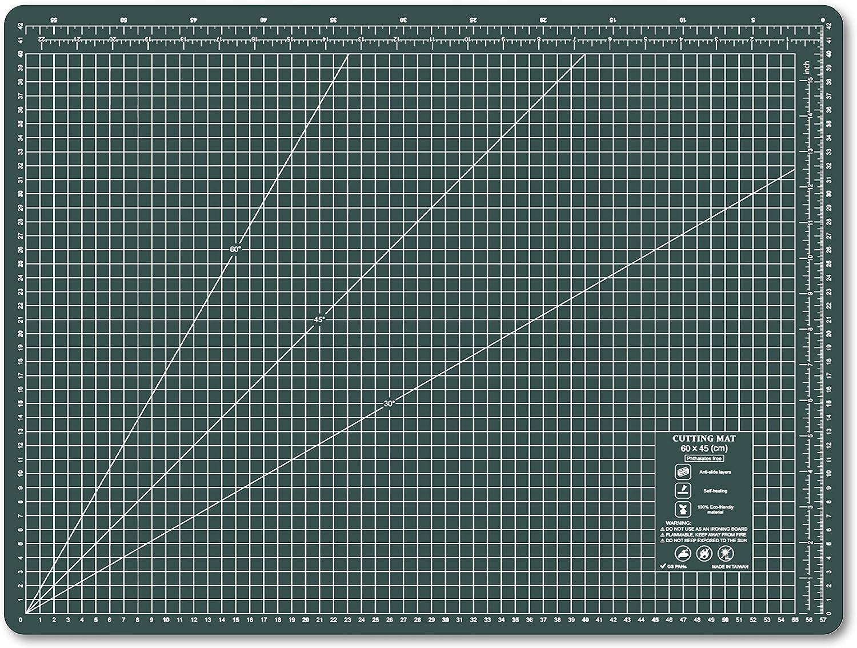 600 x 450 mm Self Healing Eco Friendly Cutting Mat Alfombrillas De Corte Para Acolchar A2 Amarillo