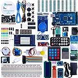 Elegoo Mega 2560 Project The Most Complete Ultimate Starter Kit w/ TUTORIAL, MEGA 2560 controller board, LCD1602, Servo, Stepper Motor for Arduino Mega2560 UNO Nano