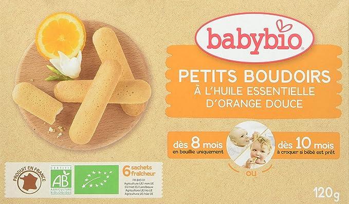BabyBio Petits Boudoirs- Galletas de dentición con aceite esencial ...