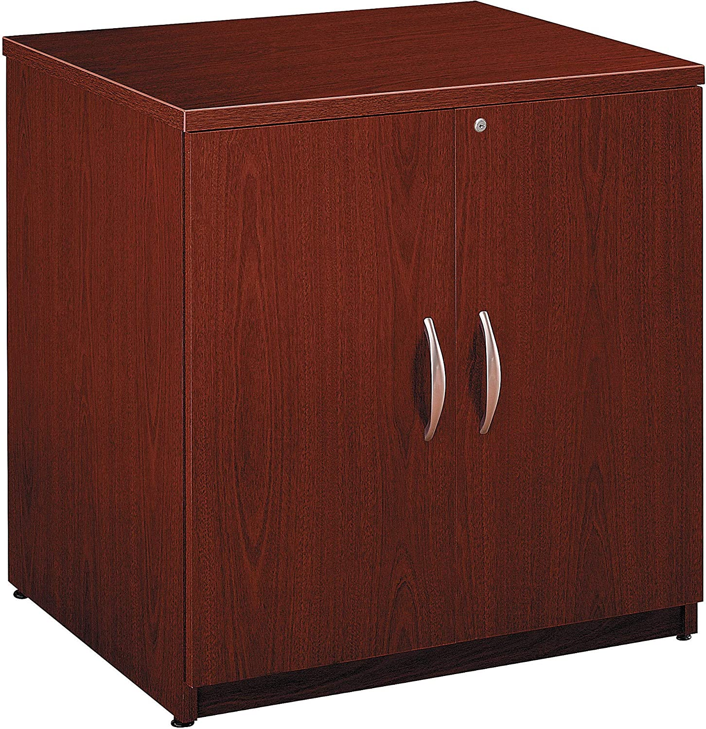 Series C Collection 30W Storage Cabinet in Mahogany