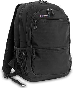 J World New York Dexter Laptop Backpack, Black, One Size