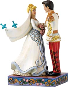 Jim Shore Disney Traditions by Enesco Cinderella and Prince Charming Wedding Figurine