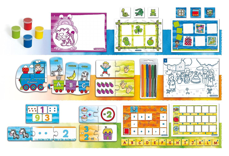 Gut bekannt Clementoni - 62411-La Maternelle-Jeu éducatif: Amazon.fr: Jeux et  ZZ83