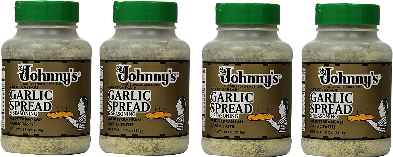 Johnnys Garlic Spread Tucson Mall and Seasoning 4Pack Lowest price challenge 18 XjECar Ounce