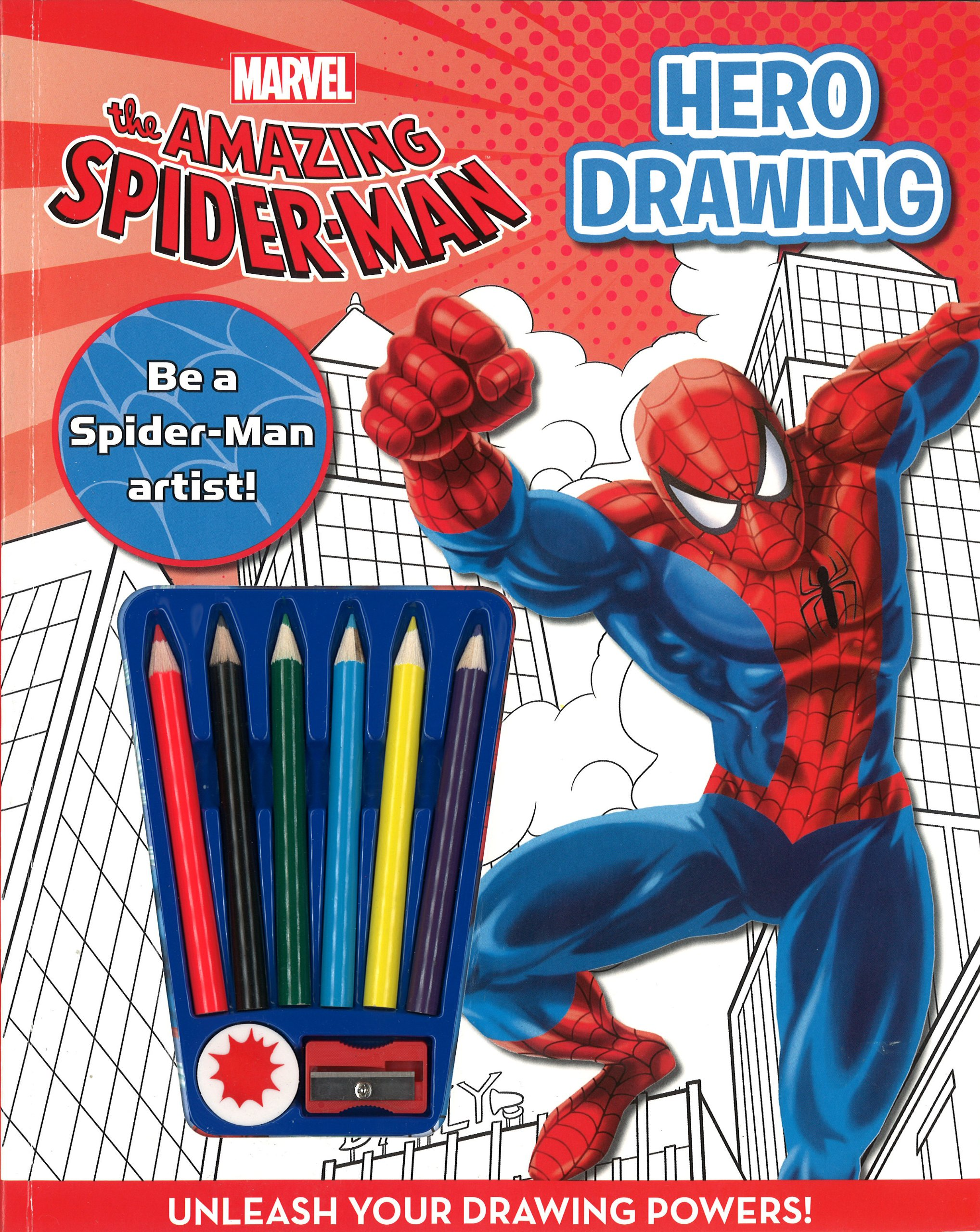 Spider Man How To Draw Marvel Draw A Hero Parragon Books