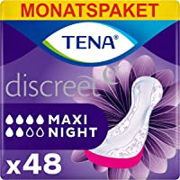 TENA Lady Maxi Night, Compresas - 48 Unidades