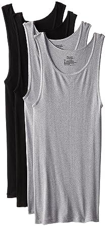 87603d388 Hanes Men's 6-Pack ComfortSoft Tanks at Amazon Men's Clothing store: