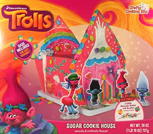DreamWorks Trolls Sugar Cookie House Kit
