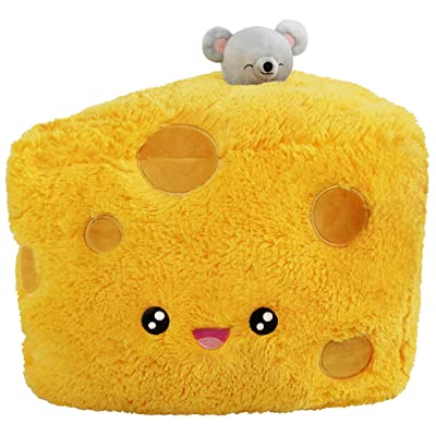 "Squishable / Comfort Food Cheese Wedge Plush - 15"": Toys & Games"