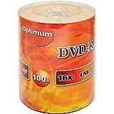 Optimum DVD-R 16x 4.7GB / 120min Logo Top 100pk