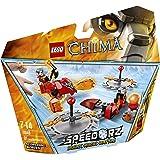 LEGO Legends Of Chima-speedorz - 70149 - Jeu De Construction - Worriz - Challenge - Les Lames De Feu