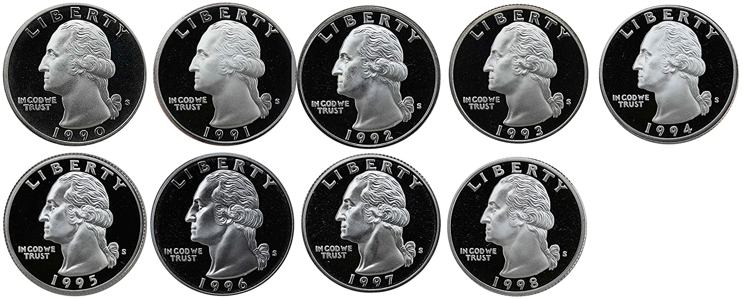 1985 D  Washington Brilliant Uncirculated Quarter ~ Choice Coin from Bank Roll