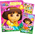 Dora The Explorer Giant Coloring Book with Stickers (144 Pages) by Bendon Publishing