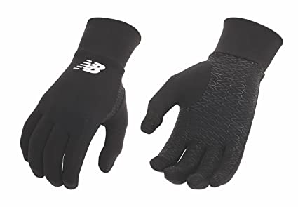 amazon com new balance lightweight running gloves sports outdoors