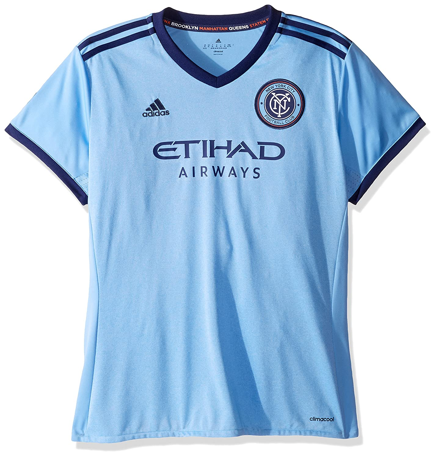 finest selection 44f40 25c80 adidas New York City FC Women's Jersey Home Replica Soccer Jersey