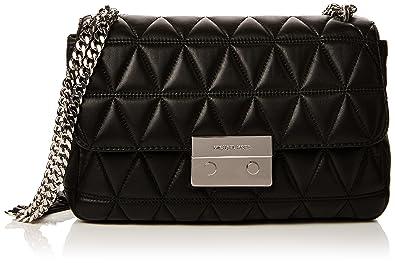 121e49c82dc9 Michael Kors Womens Sloan Shoulder Bag Black (BLACK): Amazon.co.uk: Shoes &  Bags
