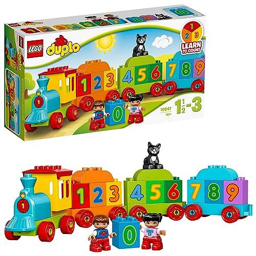 LEGO DUPLO - Le train des chiffres - 10847 - Jeu de Construction