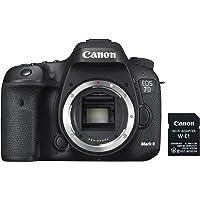 Canon EOS 7D Mark II body only with Wi-Fi Adapter W-E1 Digital Camera - SLR(7DIIB2) 3Inch Display,Black (Australian warranty)
