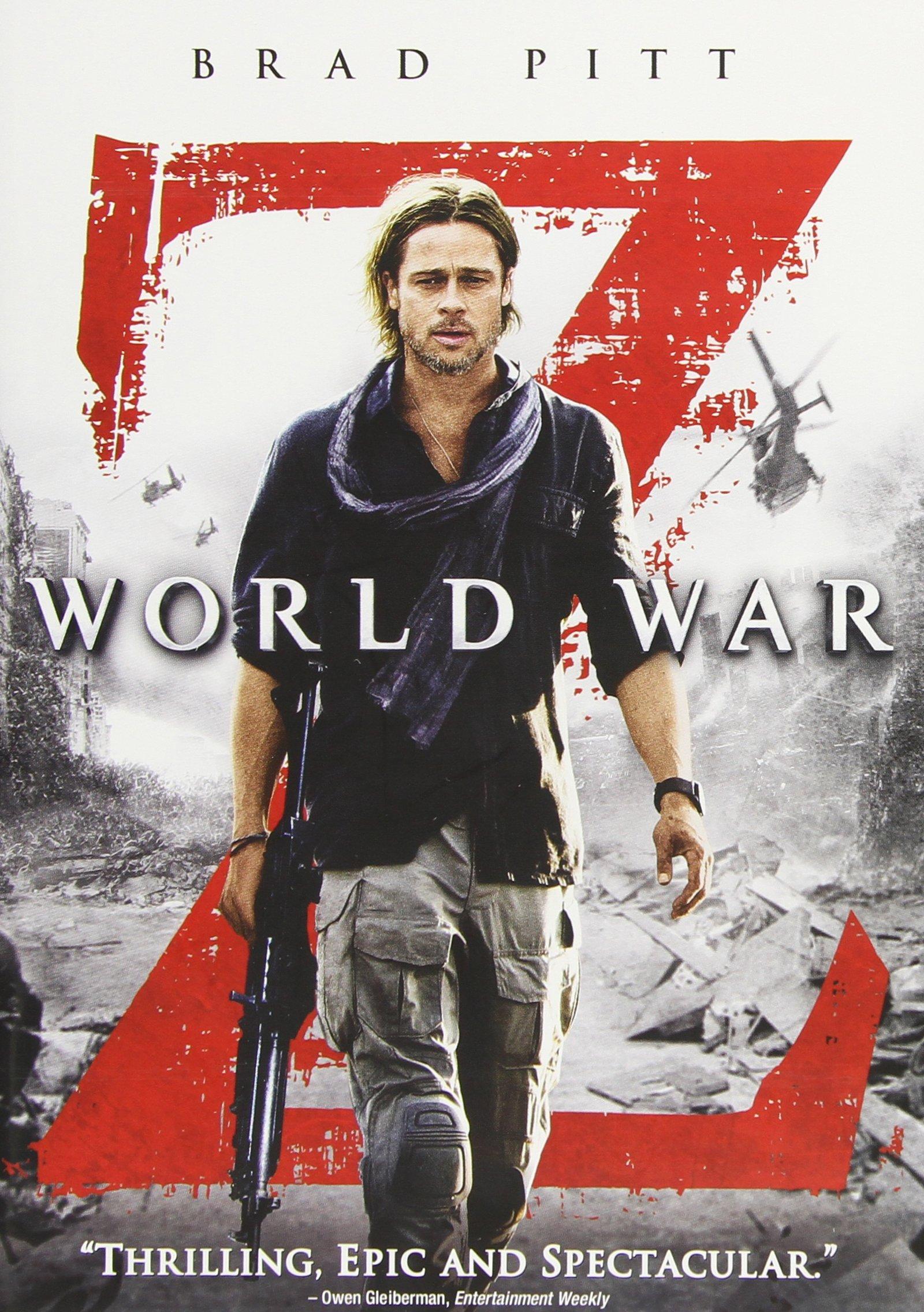 DVD : World War Z (, Dolby, AC-3, Widescreen, Dubbed)